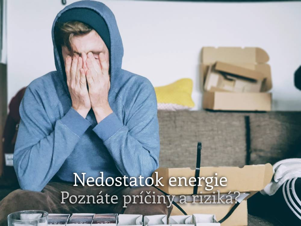 nedostatok energie
